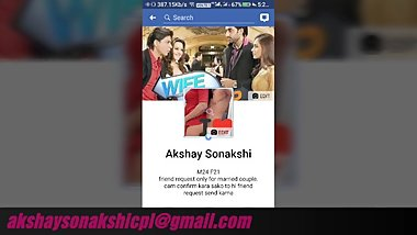 Akshay Sonakshi indian Couple 1st video share