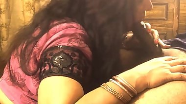 Punjabi Indian Wife Sexy Blowjob