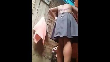 Indian school girl undress