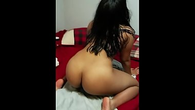 Indian slut showing us how your gf should ride cock