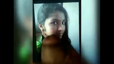 CUM TRIBUTE FOR HOT YUVARAJA COLLEGE GIRL