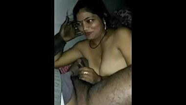 Indian wife shy to suck cock before fucked...full hindi audio