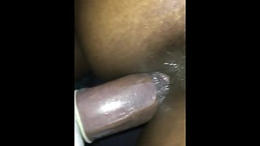 CHEATING EBONY SNEAKS OUT HER BOYFRIEND HOUSE TO FUCK A BIG INDIAN DICK !