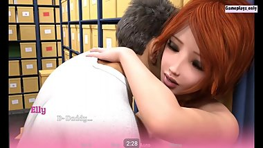 Squeezing tits in Public store **PARENTAL LOVE