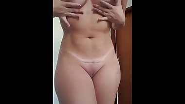 my hot girl friend fuck at my home