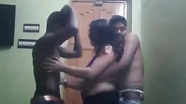 2 boys 1 girls deshi party