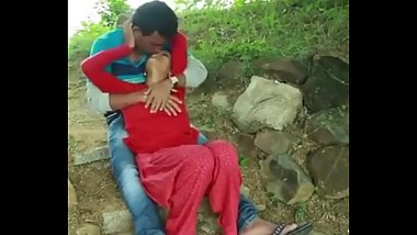 Indian couple park sex