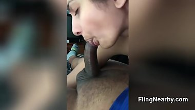 Throatfucking My Real Indian Ex Girlfriend Plus Facial