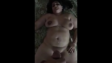 Desi Hunter Aunty Seduction, Tease & Fucked with Cumshot