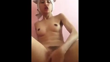 Nepali girls play her puti