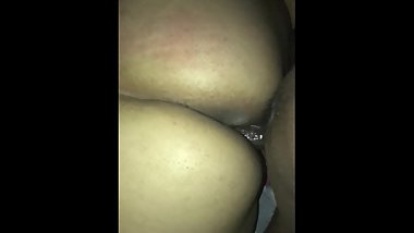 Deep stroking a thick ass Indian chick