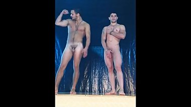 Hot indian hunks pose nude
