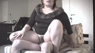 Fucked BBW Horny faty Milf at Late Night very hard