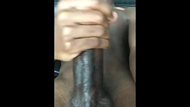 young black with huge cock cumshot