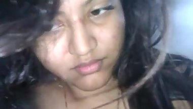 Desi Indian Very Beautiful n Innocent GF Blowjob and Rides On BF Dick