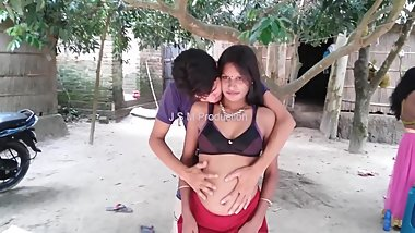 Guy groping indian belly