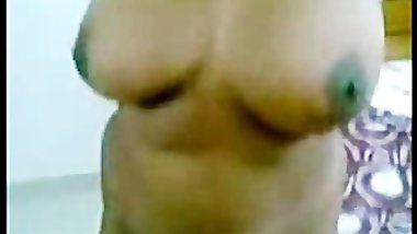 Sexy & Hot Southindian Huge Boobs Aunty fucking hard with her Partn